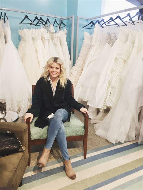 whitney carson dwts wedding witney carson wedding dress fitting