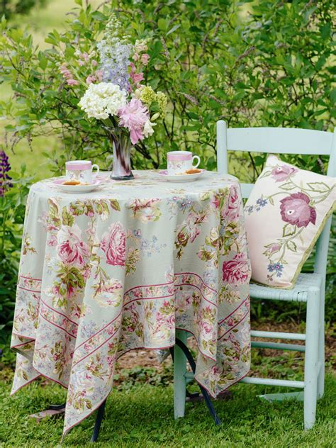 tablecloth table linens kitchen