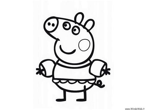 peppa pig birthday coloring pages free coloring pages of peppa pig birthday