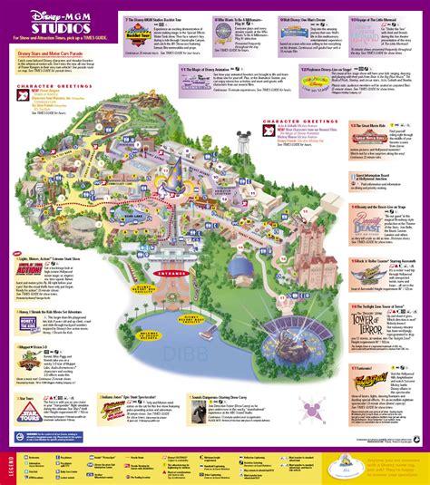 disney studios map disney mgm studios map mgm studios mappery