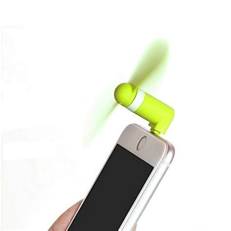 usb fan for phone flexible mini fan for iphone 5 6 android with otg