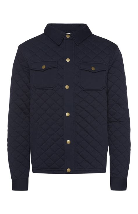 Primark Quilted Jacket an extraordinary navy quilted jacket for primark