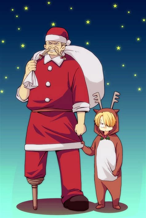 piece christmas zerochan anime image board