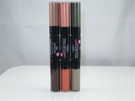 Eyeshadow Loreal l oreal infallible paints eyeshadow review swatches