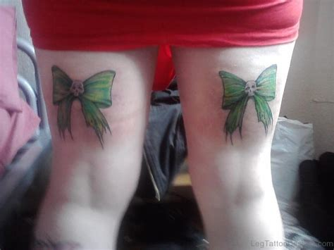 tattoo aftercare on thigh 47 brilliant bow tattoos on thigh