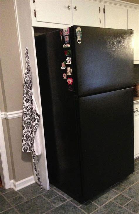 can you paint kitchen appliances paint a refrigerator black home improvement ideas