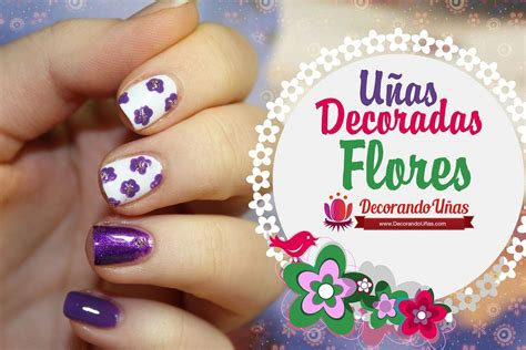 fotos uñas decoradas flores sencillas 120 u 209 as con flores u 209 as decoradas nail art