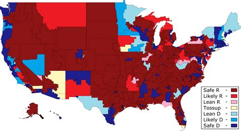 map us house districts daily kos elections house race ratings initial ratings
