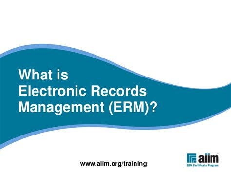 What Is Records What Is Electronic Records Management