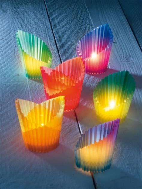 kerzenhalter selber basteln papier windlichter basteln und auf gute gedanken kommen