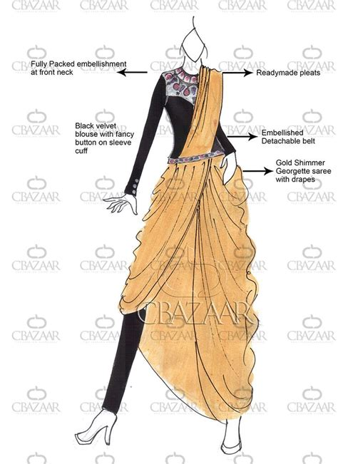 Style Guide The Belt Drape by Best 25 Saree Draping Styles Ideas On Saree