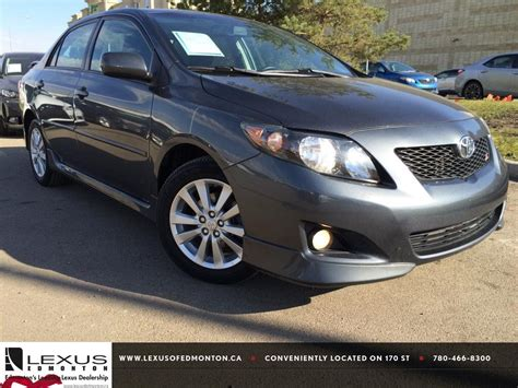 2010 Toyota Corolla S Reviews by Pre Owned Grey 2010 Toyota Corolla Auto S Review