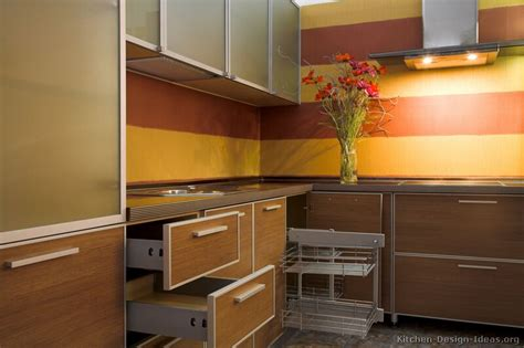 yellow backsplash kitchen orange painted kitchen cabinets quicua