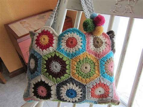 crochet afghan bag pattern 17 best images about crochet bag granny hexagon on