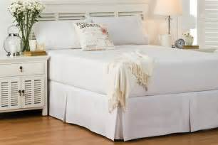 volant bett perfects black valance bed bath n table
