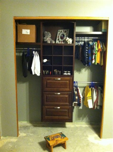 bedroom closet organizers closet organizer from lowes ryan s new bedroom pinterest