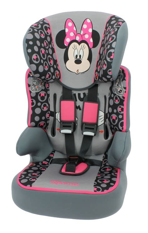 minnie mouse high back booster seat nania beline sp minnie mouse car seats car seats
