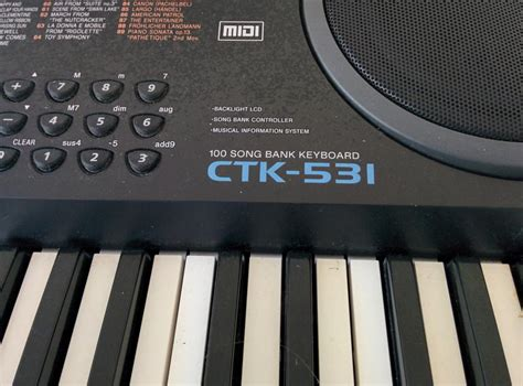 Keyboard Casio Ctk 531 casio ctk 531 keyboard qualicum nanaimo