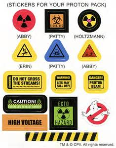 Proton Pack Decals Spook Central Ghostbusters 2016 Mini Proton Pack Replica