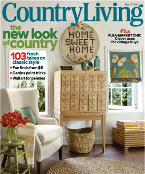 Home Decor Magazines Uk by Modern Country In Country Living