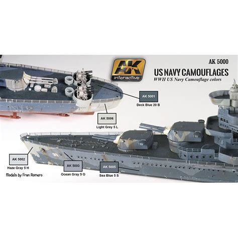 Us Belia Set Navy ak interactive ak5000 us navy camouflages 6x17ml passion132