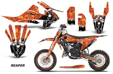Ktm 65 Decals Amr Racing Graphic Kit Ktm Sx65 Bike Decal Number Plate