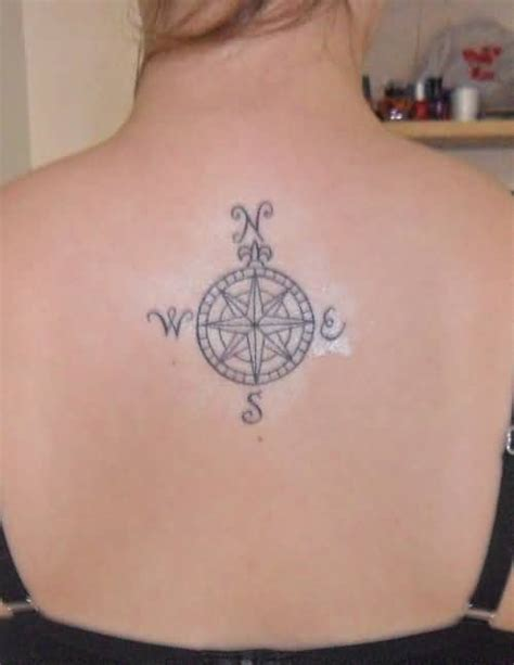 compass tattoo upper back compass back tattoo ideas and compass back tattoo designs