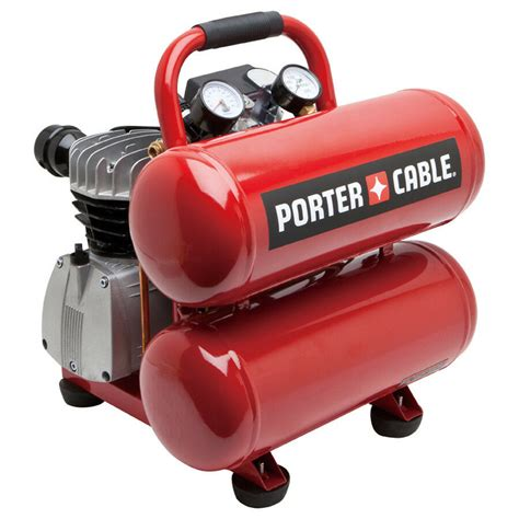 porter cable 4 gallon stack tank air compressor pcfp02040r ebay