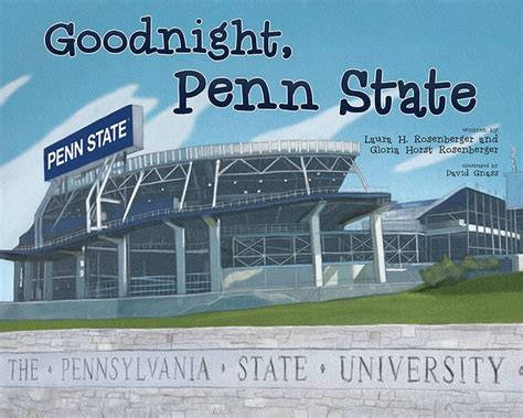 Penn State Barnes And Noble Goodnight Penn State By Laura H And Horst Rosenberger