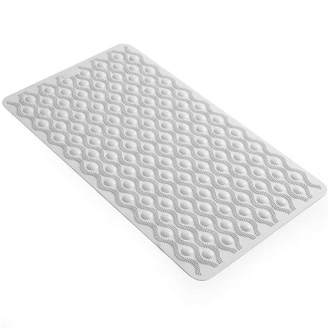 Non Slip Rubber Floor Mats by Wilko Bath Mat Non Slip Rubber White At Wilko