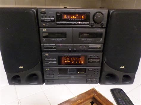 compact systems early 1990 s jvc home stereo system compact component