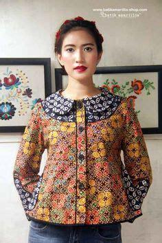 Blouse Batik Pink Kombinasi blouse batik kombinasi brokat klambi batik kebaya brokat and blouses