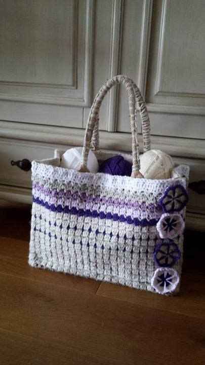 Tas Rischa gemaakt door ina jeuring sas tas crochet