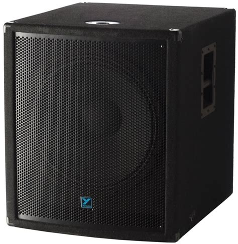 yorkville sound 18 inch powered subwoofer mcquade musical instruments