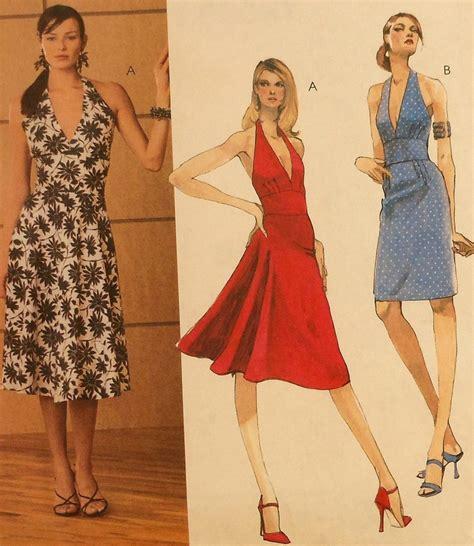 pattern halter dress halter dress sewing pattern uncut mccalls 3583 sizes 4 10