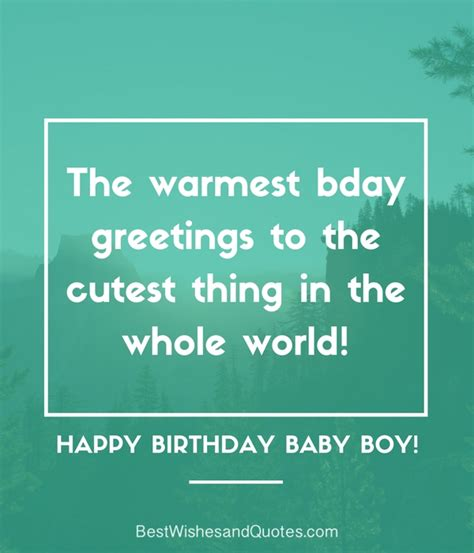 Happy Birthday To My Baby Quotes Happy Birthday Baby Boy 33 Emotional Quotes That Say It All