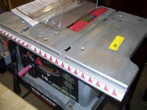 Task Force Table Saw 50 10 Inch Task Force Bench Table Saw