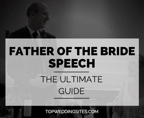 Wedding Speech Deceased Father Groom