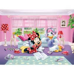 Giant Wallpaper Mural Collection disney minnie amp daisy wallpaper xxl great kidsbedrooms