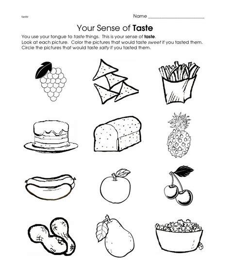 taste worksheet escuela worksheets