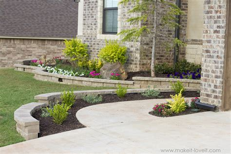 how to landscape hardscape a front yard from our experience make it and love it