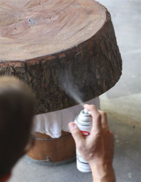 Best 25  Tree table ideas on Pinterest   Natural wood table, Log table and Live edge furniture