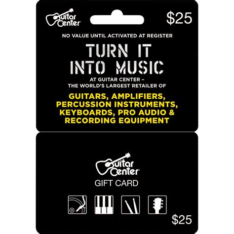 Guitar Center Gift Card - guitar center gift card music gaming seasonal gifts shop the exchange