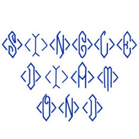 diamond pattern font single diamond monogram embroidery font annthegran