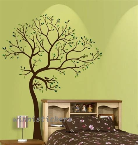 Vinyl Tree Wall Decals For Nursery Vinyl Wall Decal Tree Decal Nature Design Tree Wall Decals Wall Stickers Nursery Wall Decal Wall
