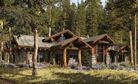 luxury log cabin plans green design archives the log home floor plan blog