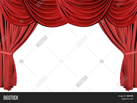 curtains up theater red draped theater curtains series image photo bigstock