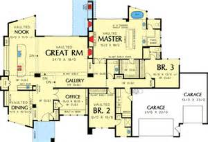 Single Level Floor Plans Contemporary One Story House Plans Single Story Modern