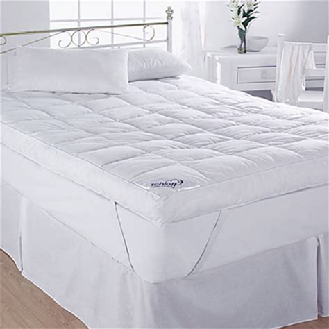 King Size Feather Bed by 5 Duck Feather Mattress Topper Cotton King