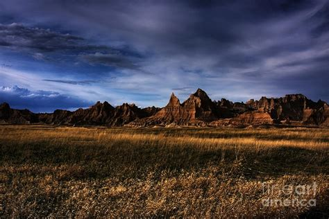 south dakota badlands the landscape photograph by wayne